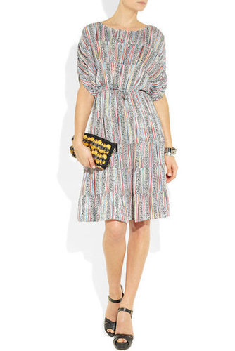 Tucker|Printed silk dress|NET-A-PORTER.COM