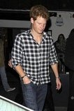 Prince Harry went to Le Baron.