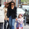 Katie Holmes and Suri Cruise Shopping in NYC Pictures