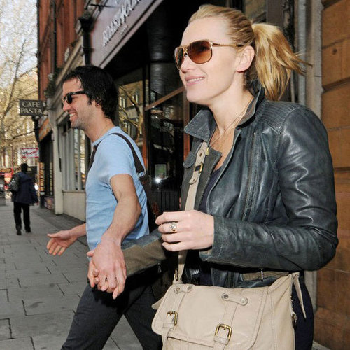 Kate Winslet and Ned Rocknroll in London Pictures