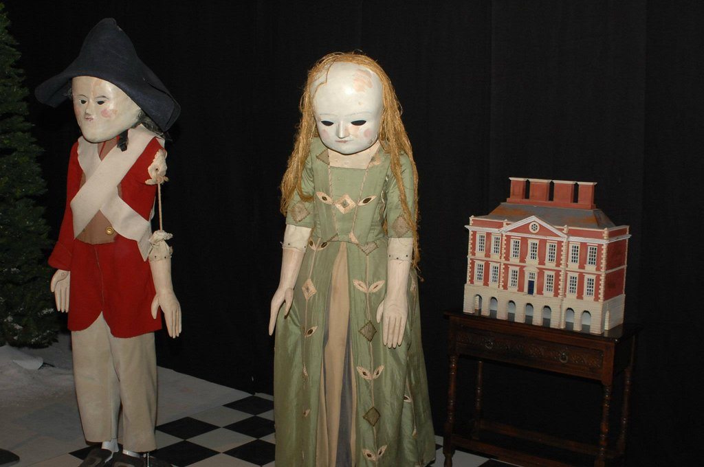 "Remember these creepy dolls from the ""Night Terrors"" episode? Photo: Doctor Who Facebook, Alexandra Thompson"