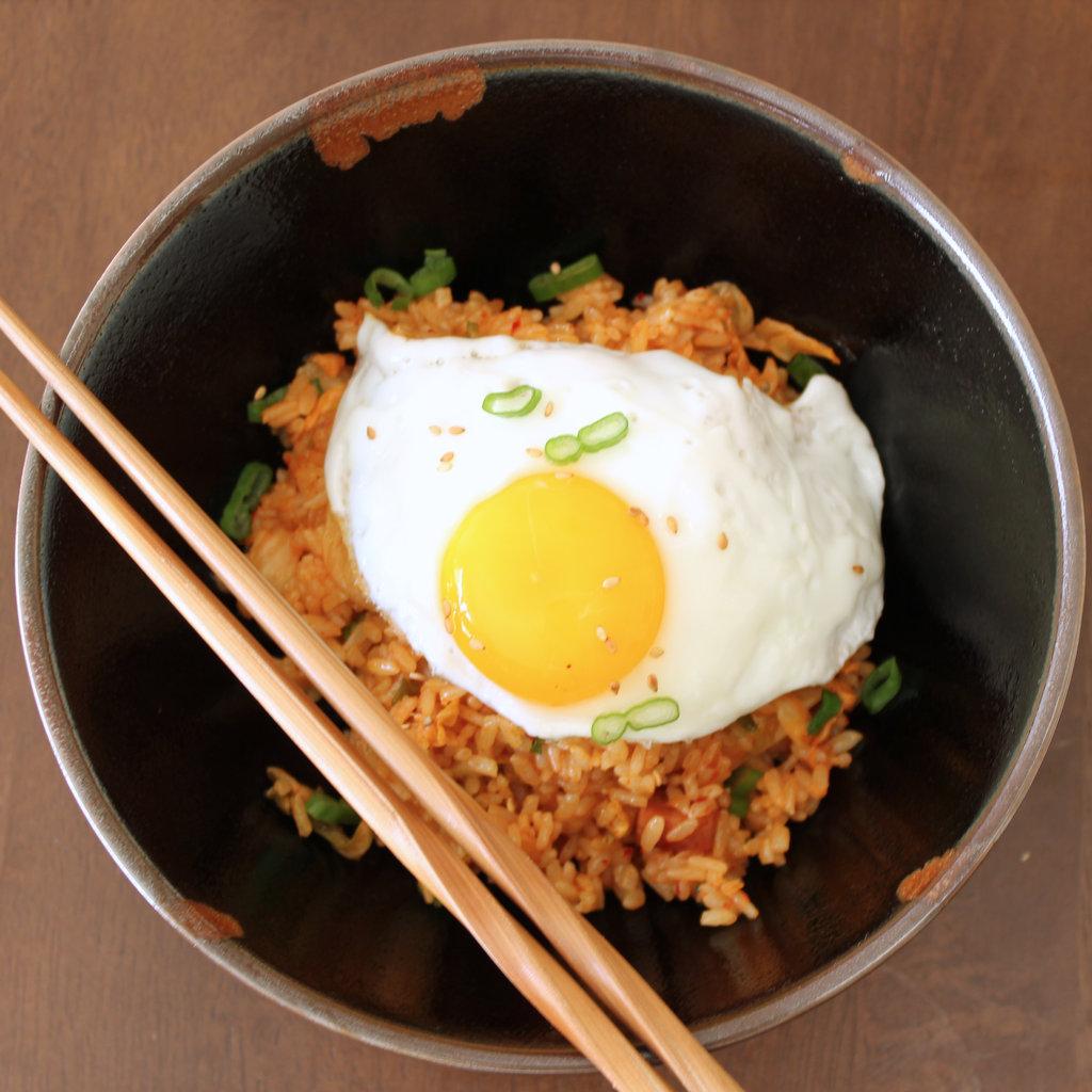 Kimchi Fried Rice Recipe | POPSUGAR Food