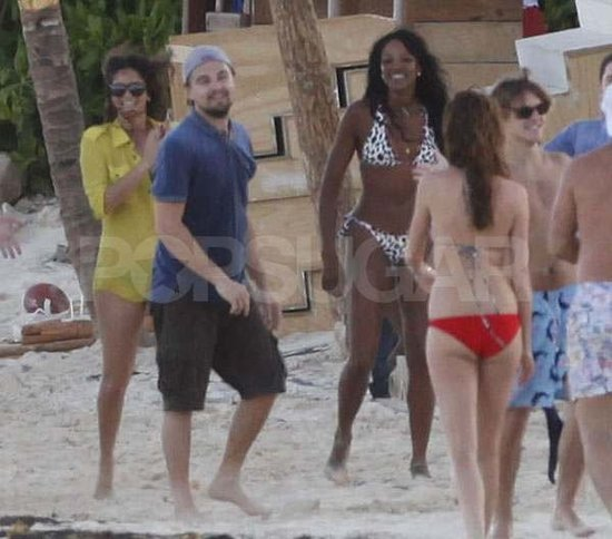 Leonardo DiCaprio Parties With Kate Hudson, Naomi Campbell, and More at a Lavish Birthday Bash