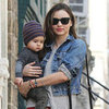 Miranda Kerr With Flynn in NYC Pictures