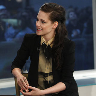 "Kristen Stewart said she ""can't wait"" to see The Hunger Games."