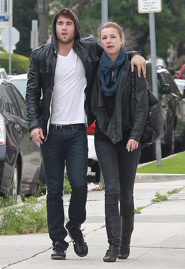 Revenge's Emily VanCamp and Joshua Bowman out in LA.