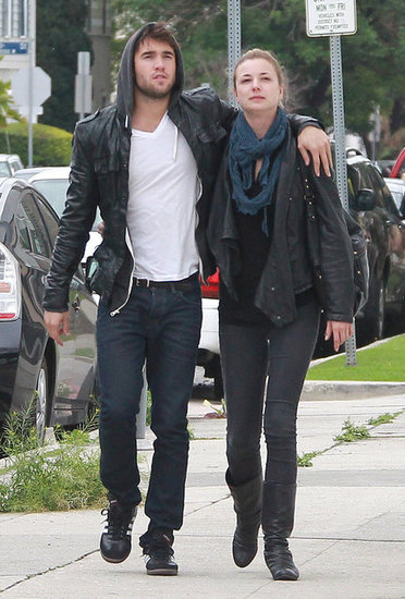 Revenge's Emily VanCamp and Joshua Bowman Show PDA in LA