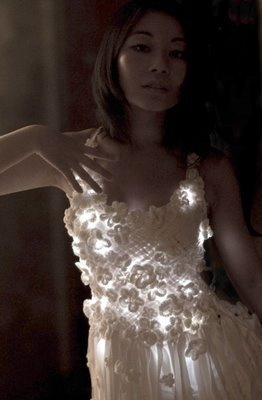 Mary Huang Light Dress