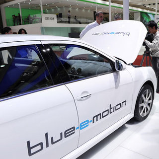 Electric Volkswagen Blue-E-Motion Car