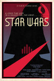 LE Designer Star Wars Movie Poster ($30)