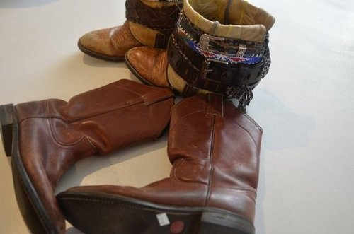 DIY boho belted boots tutorial | Mr. Kate