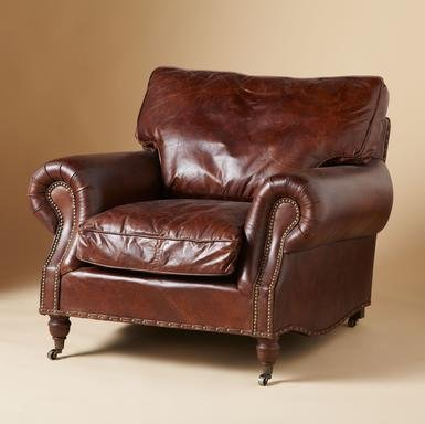 DUSTIN LEATHER CHAIR