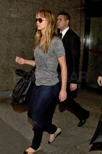 Jennifer Lawrence Does Casual Chic