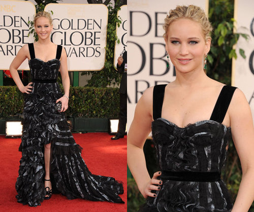 Jennifer Lawrence in Ladylike Louis Vuitton