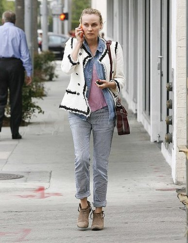 Diane Kruger Sports Chanel in a Casual Way
