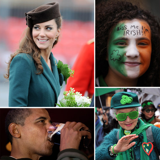 See How Kate Middleton, Barack Obama, and People Around the World Celebrated St. Patrick's Day