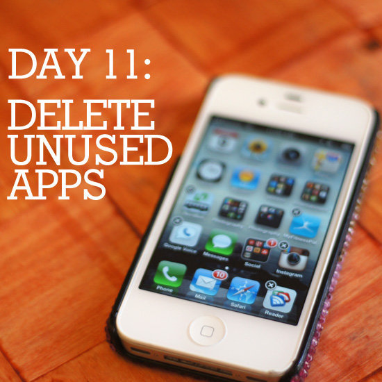 Drop the dead weight and delete any unused apps on your smartphone.