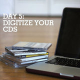 Get rid of those jewel cases and digitize your CDs.