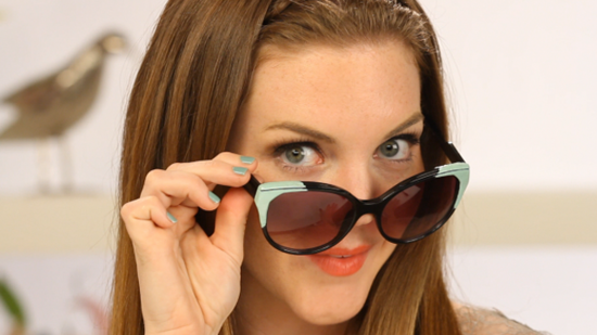 DIY: How to Make Retro, Pastel-Tipped Sunglasses!
