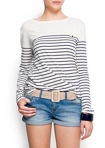 MANGO - NEW! - Sailor long sleeved t-shirt