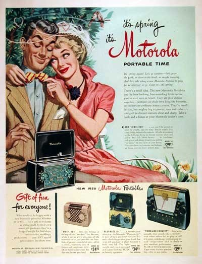 It's Spring, so bust out that Motorola portable!