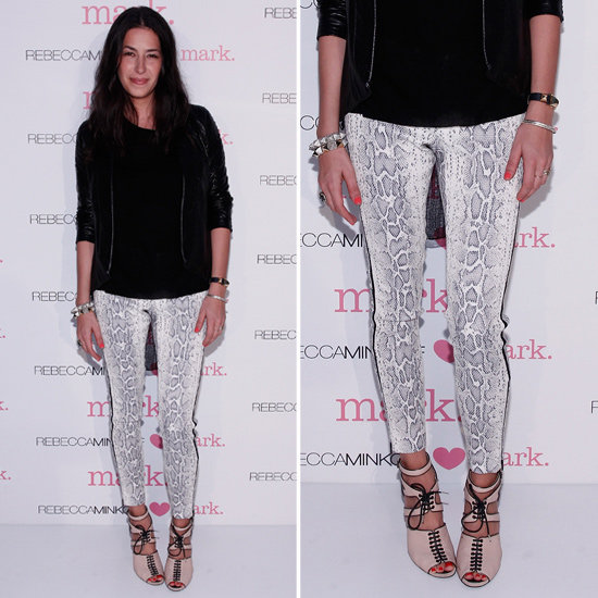 Snake Print Jeans