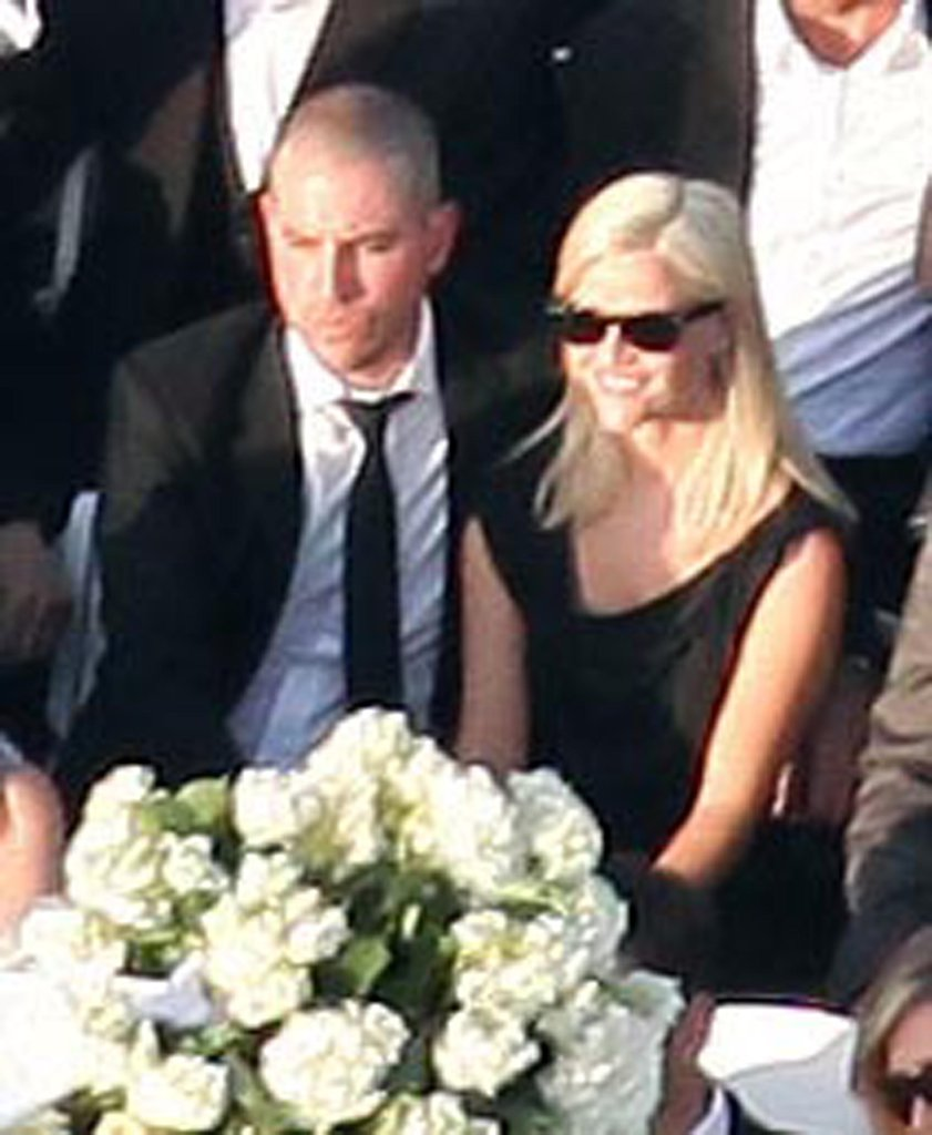Reese Witherspoon and Jim Toth attended Colin Hanks's LA wedding in LA in May 2010.