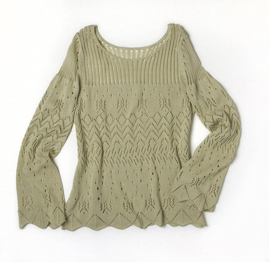 Alberta Ferretti for Macy's Impulse Sage Double Knit Sweater ($79)