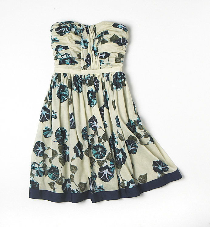 Alberta Ferretti for Macy's Impulse Floral Strapless Dress ($79)