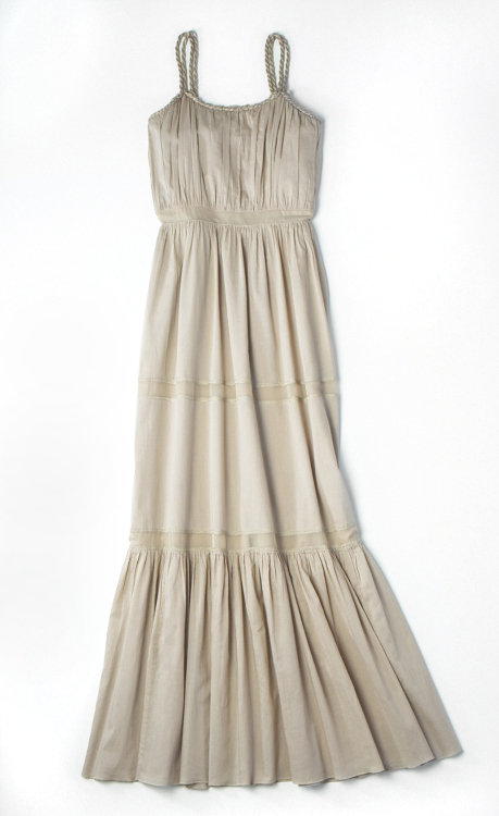 Alberta Ferretti for Macy's Impulse Beige Maxi Dress ($109)