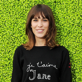 Alexa Chung Wears Celine at the British Designers Collective