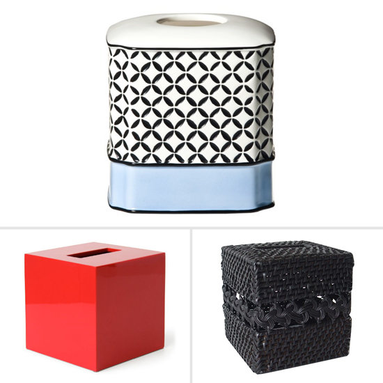 Spruce Up Your Workspace With a Stylish Tissue Box Cover