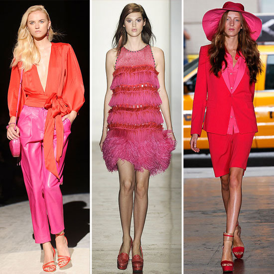 Spring 2012 Cool Color Combo: Red + Pink