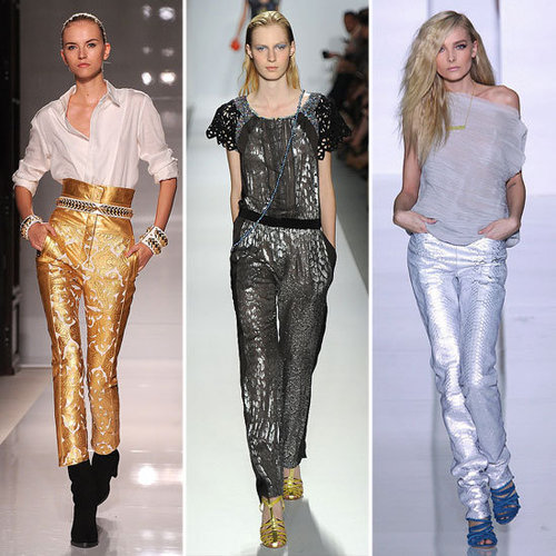 Spring 2012 Color Report: Bold Metallics