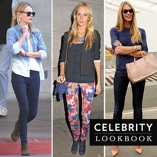 Thirty-five Spring denim styles to steal right now, courtesy of our favorite chic celebs.