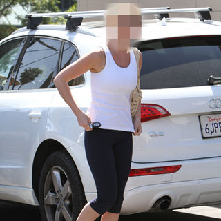 Picture of Former Grey's Anatomy Star in Workout Clothes