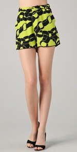 Piamita Chain-Print Shorts