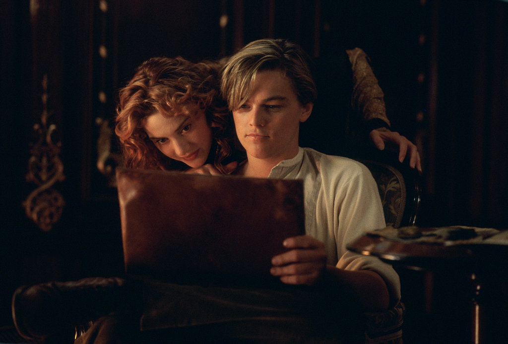 Leonardo DiCaprio and Kate Winslet in Titanic.  Photo courtesy of Paramount Pictures