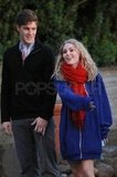 AnnaSophia Robb and her rumored onscreen love interest, Brendan Dooling were on the set of The Carrie Diaries in NYC.