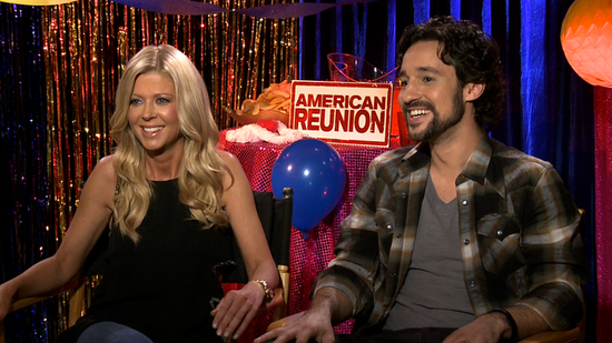 "The American Reunion Cast on an Onscreen Dance Off and Who They'd Vote ""Most Changed"""