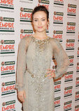 Olivia Wilde attends the Jameson Empire Awards in London.