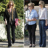 Kate Moss Celebrates Her New Pad  With Mom Linda and Husband Jamie