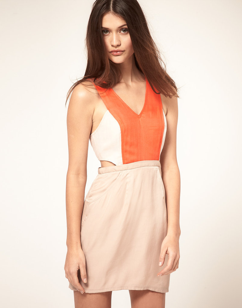 Finders Keepers Another Time Sporty Cutout Dress ($170)