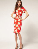 ASOS Tea Dress in 40s Floral Print ($25)
