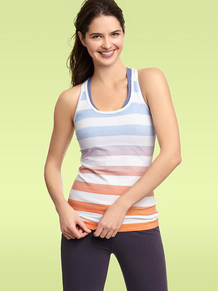 I'm a huge fan of the rainbow hues of this sweet GapFit Striped Racerback Tank ($20) — definitely an ideal Spring top!