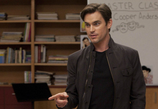 Matt Bomer as Cooper on Glee.
