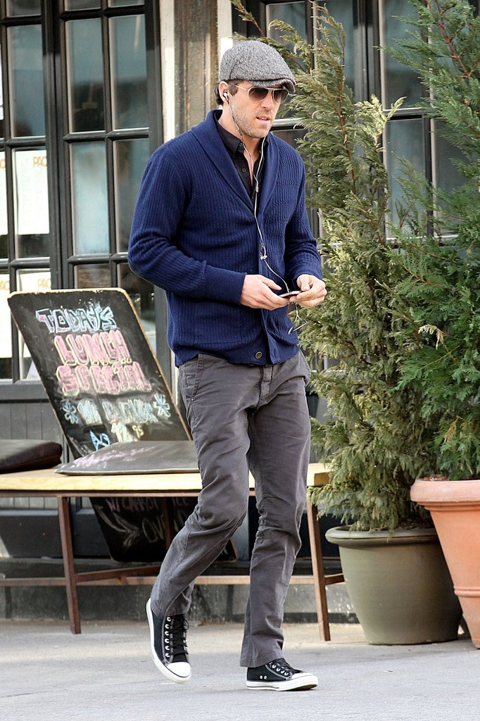 Ryan Reynolds got some fresh air in NYC.