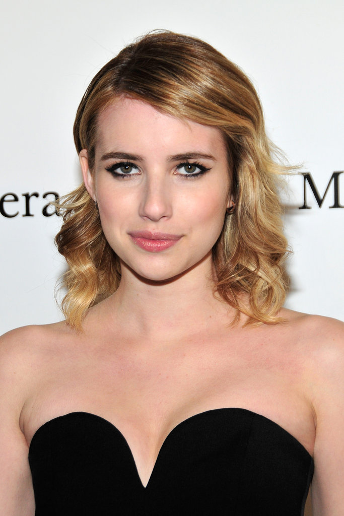 Emma Roberts attended the Metropolitan Opera gala in NYC.
