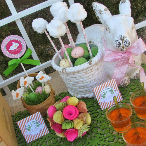 Bunny-Themed Easter Egg Hunt Luncheon