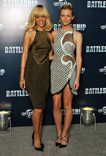 Rihanna and Brooklyn Decker Battleship